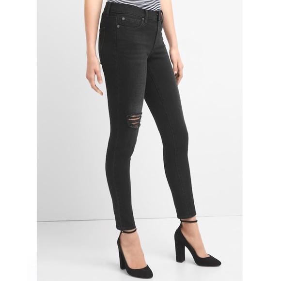 dc154cf21c GAP Jeans | Mid Rise True Skinny 360 Stretch | Poshmark
